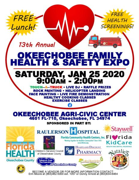 13th Annual Okeechobee Family Health and Safety Expo